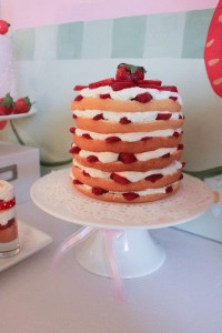 Strawberry Shortcake Birthday Party via Kara's Party Ideas karaspartyideas.com #strawberry #shortcake #party #ideas-14