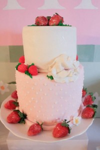 Strawberry Shortcake Birthday Party via Kara's Party Ideas karaspartyideas.com #strawberry #shortcake #party #ideas-15