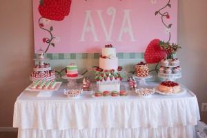 Strawberry Shortcake Birthday Party via Kara's Party Ideas karaspartyideas.com #strawberry #shortcake #party #ideas-3