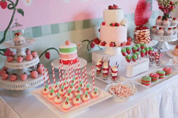 Strawberry Shortcake Bday Cake