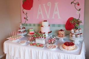 Strawberry Shortcake Birthday Party via Kara's Party Ideas karaspartyideas.com #strawberry #shortcake #party #ideas-6