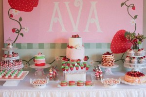 Strawberry Shortcake Birthday Party via Kara's Party Ideas karaspartyideas.com #strawberry #shortcake #party #ideas-7