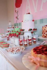 Strawberry Shortcake Birthday Party via Kara's Party Ideas karaspartyideas.com #strawberry #shortcake #party #ideas-8