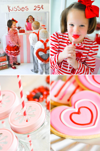 Valentine's Day Party | Kissing Booth | via Kara's Party Ideas karaspartyideas.com #valentine's #day #party #ideas #kissing #booth