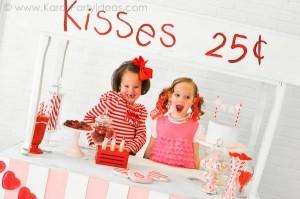 Valentine's party kissing booth via Kara's Party Ideas karaspartyideas.com-133