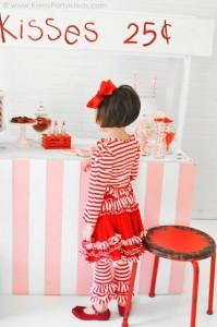 Valentine's party kissing booth via Kara's Party Ideas karaspartyideas.com-135