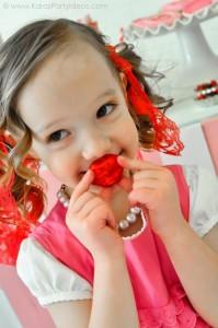 Valentine's party kissing booth via Kara's Party Ideas karaspartyideas.com-163
