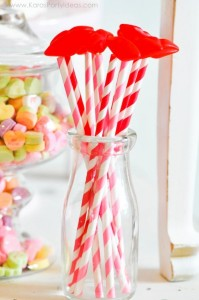 Valentine's party kissing booth via Kara's Party Ideas karaspartyideas.com-170