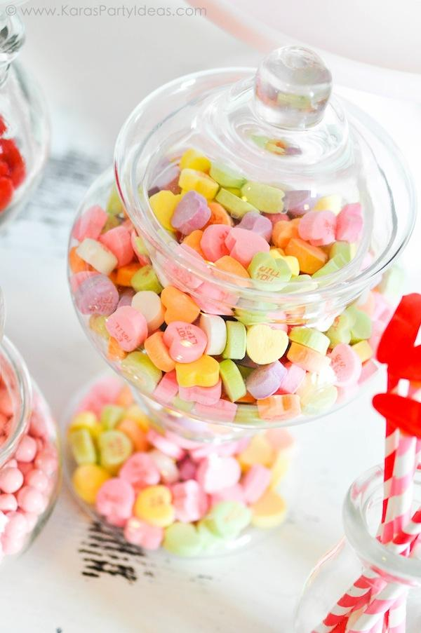 Valentine's party kissing booth via Kara's Party Ideas karaspartyideas.com-190