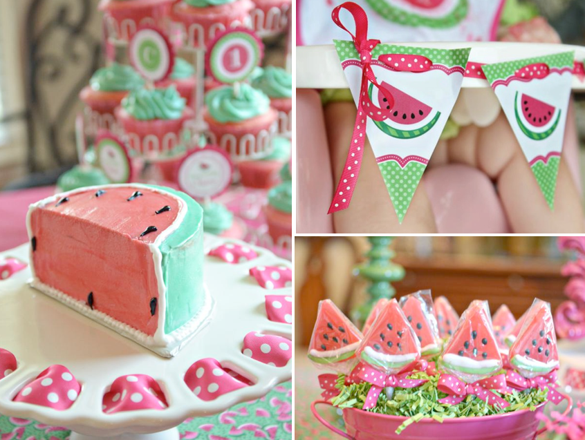 kara s party ideas watermelon fruit summer girl 1st birthday party