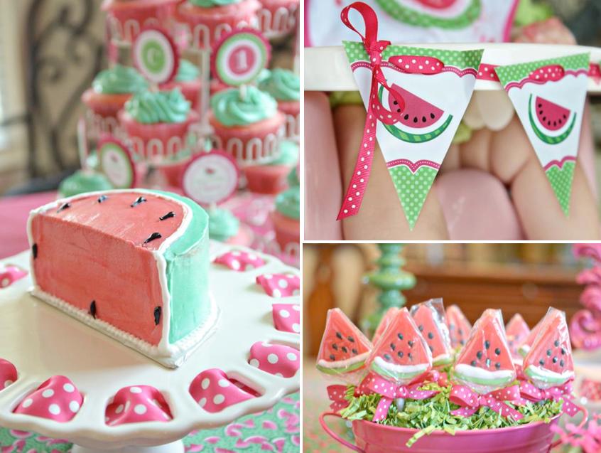 Watermelon Themed Birthday Party Via Karas Ideas Karaspartyideas Summer Idea Girl