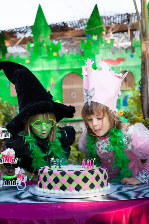 Party ideas wicked musical witch wizard of oz girl birthday party