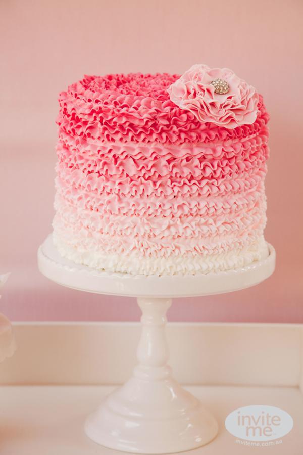 Beautiful Pink Cake Images : Kara s Party Ideas Ballerina Ballet Dance Tutu Girl 5th ...