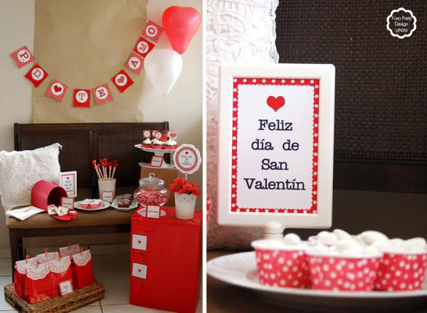 Karas Party Ideas Love Letter Valentines Day Party Planning Ideas