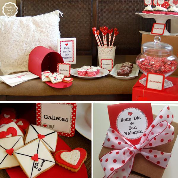 Kara's Party Ideas Love Letter Valentine's Day Party ...