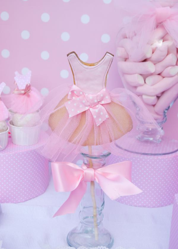 Kara S Party Ideas Pink Ballerina Dance Ballet Girl 4th