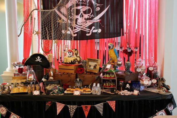 Karas Party Ideas Pirate Boy Captain Jack Sparrow 6th Birthday