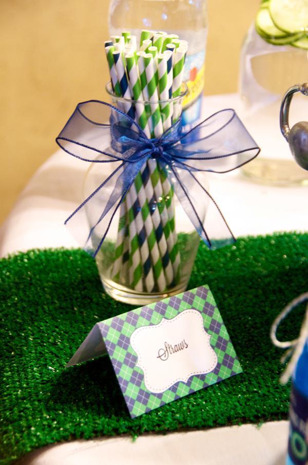 Kara S Party Ideas Preppy Golf Themed Boy Baby Shower