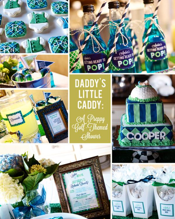 Golf Themed Baby Shower Ideas