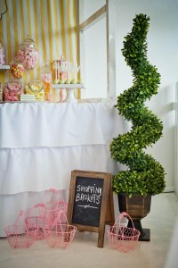 Vintage Candy + Sweet Shoppe Birthday Party via Kara's Party Ideas karaspartyideas.com sweet shop party supplies shop online cake decorations stand (37)