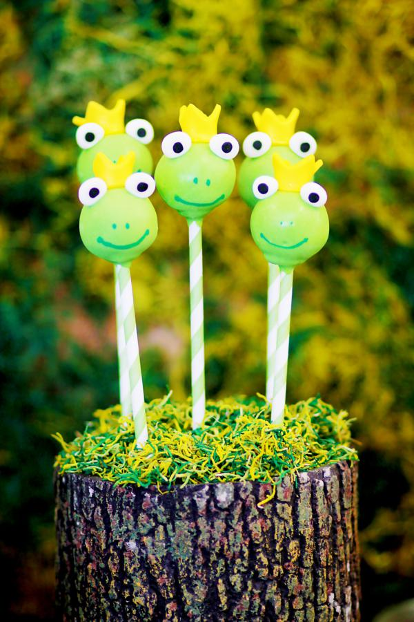 Frog Prince Themed Baby Shower