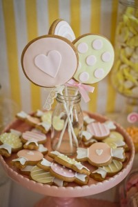 Vintage Candy + Sweet Shoppe Birthday Party via Kara's Party Ideas karaspartyideas.com sweet shop party supplies shop online cake decorations stand (31)
