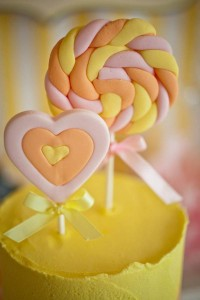 Vintage Candy + Sweet Shoppe Birthday Party via Kara's Party Ideas karaspartyideas.com sweet shop party supplies shop online cake decorations stand (21)