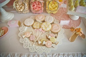 Vintage Candy + Sweet Shoppe Birthday Party via Kara's Party Ideas karaspartyideas.com sweet shop party supplies shop online cake decorations stand (17)