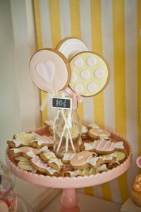Vintage Candy + Sweet Shoppe Birthday Party via Kara's Party Ideas karaspartyideas.com sweet shop party supplies shop online cake decorations stand (15)