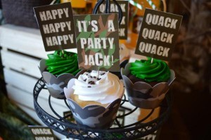 Duck Dynasty Themed birthday party via Kara's Party Ideas KarasPartyIdeas.com #duck #dynasty #show #themed #party #food #decor #ideas #cake #idea (32)