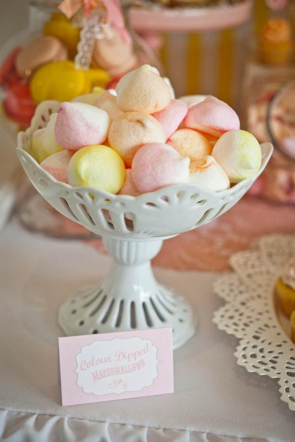 Vintage Candy + Sweet Shoppe Birthday Party via Kara's Party Ideas karaspartyideas.com sweet shop party supplies shop online cake decorations stand (9)