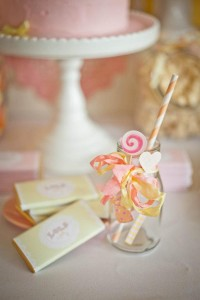 Vintage Candy + Sweet Shoppe Birthday Party via Kara's Party Ideas karaspartyideas.com sweet shop party supplies shop online cake decorations stand (7)