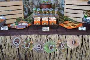 Duck Dynasty Themed birthday party via Kara's Party Ideas KarasPartyIdeas.com #duck #dynasty #show #themed #party #food #decor #ideas #cake #idea (17)