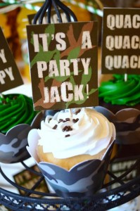 Duck Dynasty Themed birthday party via Kara's Party Ideas KarasPartyIdeas.com #duck #dynasty #show #themed #party #food #decor #ideas #cake #idea (8)