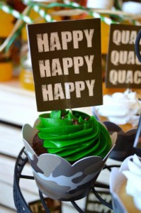 Duck Dynasty Themed birthday party via Kara's Party Ideas KarasPartyIdeas.com #duck #dynasty #show #themed #party #food #decor #ideas #cake #idea (7)