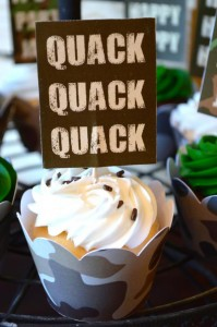 Duck Dynasty Themed birthday party via Kara's Party Ideas KarasPartyIdeas.com #duck #dynasty #show #themed #party #food #decor #ideas #cake #idea (6)