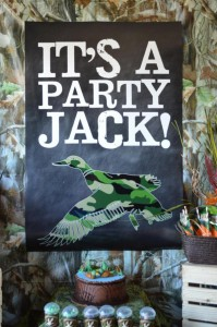 Duck Dynasty Themed birthday party via Kara's Party Ideas KarasPartyIdeas.com #duck #dynasty #show #themed #party #food #decor #ideas #cake #idea (5)