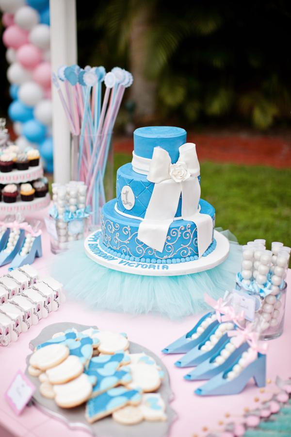 Cinderella Princess Themed Birthday Party Via Karas Ideas Karaspartyideas