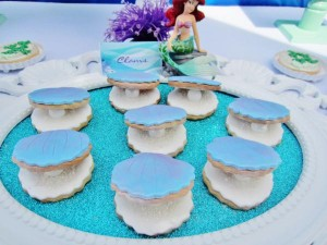 Little Mermaid Under the Sea themed birthday party via Kara's Party Ideas karaspartyideas.com #ariel #mermaid #themed #birthday #party #ideas #cake #decor #supplies (48)