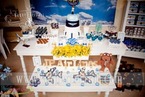 Airplane + Airline + Plane themed 1st birthday party via Kara's Party Ideas karaspartyideas.com #airplane #plane #airline #themed #birthday #party #idea #ideas #cake #decorations #favors #boys #dessert #games (41)