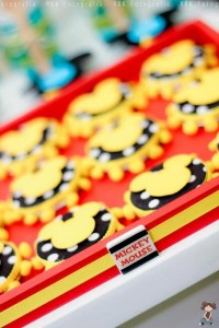 Mickey Mouse Musketeer + Mouseketeer themed birthday party via Kara's Party Ideas Mickey Mouse Party Supplies Shop (32)