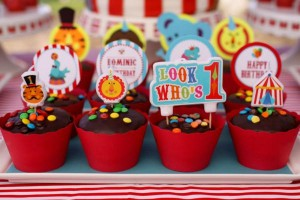 Circus Big Top Carnival Themed Party via Kara's Party Ideas karaspartyideas.com #circus #carnival #party #ideas #idea #cake #decor #supplies (26)