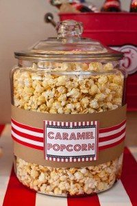 Vintage Movie Themed Birthday Party via Kara's Party Ideas KarasPartyIdeas.com #vintage #movie #party #birthday #planning #ideas #cake #decorations #favors #idea #supplies (24)