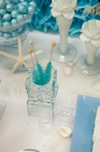 Under the Sea Mermaid 3rd Birthday Party via Kara's Party Ideas KarasPartyIdeas.com #mermaid #under #sea #birthday #party #cake #decorations #idea #supplies (26)