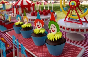 Circus Big Top Carnival Themed Party via Kara's Party Ideas karaspartyideas.com #circus #carnival #party #ideas #idea #cake #decor #supplies (25)