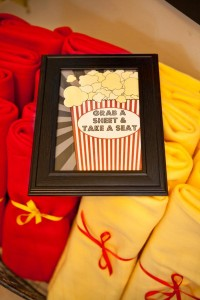 Vintage Movie Themed Birthday Party via Kara's Party Ideas KarasPartyIdeas.com #vintage #movie #party #birthday #planning #ideas #cake #decorations #favors #idea #supplies (10)