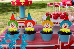Circus Big Top Carnival Themed Party via Kara's Party Ideas karaspartyideas.com #circus #carnival #party #ideas #idea #cake #decor #supplies (24)