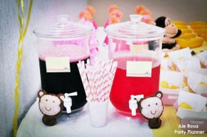 Girly monkey themed birthday party via Kara's Party Ideas karaspartyideas.com #girly #monkey #themed #party #ideas #idea #birthday (15)