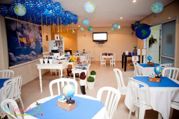 Karas Party Ideas Airplane Airline Plane themed 1st birthday