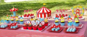 Circus Big Top Carnival Themed Party via Kara's Party Ideas karaspartyideas.com #circus #carnival #party #ideas #idea #cake #decor #supplies (30)